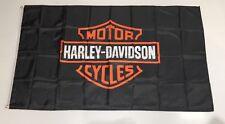Harley Davidson Style 1 Banner Flag - Motor Bike Motorbike Cycle Fat Road Racing