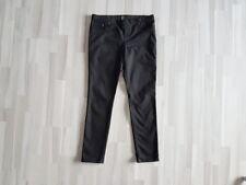w NEU * H&M Hose Stiefelhose Jeans  schwarz Gr. 44 *