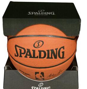 Spalding NBA Replica Basketball Game Ball Indoor Or Outdoor Size 7