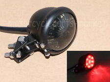 Smoke Motorcycle LED Brake Stop Rear Tail Light For Bobber Chopper Cafe Racer