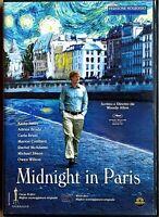 MIDNIGHT IN PARIS (2011) un film di  Woody Allen - DVD EX NOLEGGIO - MEDUSA