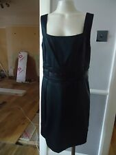 LADIES BLACK FRENCH CONNECTION COCKTAIL DRESS SIZE 14 UK