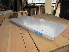 Second-hand Brownbuilt Steel Shelves 900mm x 350mm Grey