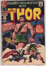 Journey Into Mystery #124 G+ 2.5 Thor Enter Hercules Jack Kirby Art!