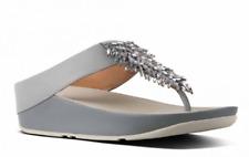 Fitflop Rumba Dove Blue Flip Flop Sandal Women's sizes 5-11/NEW
