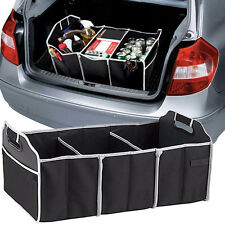 Extra Large Car Auto Trunk Organizer with 3 Compartments