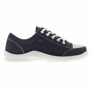 Finn Comfort Soho Navy Womens Shoes