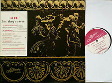 LES CINQ RUSSES R-Korsakov Balakirev Borodin Moussorgsky Cui LP Charlin SLC-1