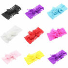 Kids Baby Girls Toddler Lace Headband Hair Band Bowknot Headwear Accessories