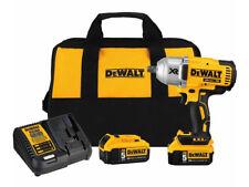 "DEWALT 20V MAX Cordless Li-Ion 1/2"" Impact Wrench w/ 2 Batteries DCF899P2 New"