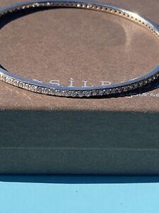 Silpada Perfection Bangle Shine Bright Like A Diamond B2897