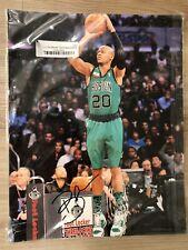 Ray Allen Autographed 11x14 Glossy NBA Photo All-Star Boston Miami