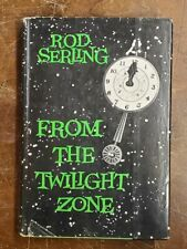 From the Twilight Zone by Rod Serling, vintage SciFi hardcover