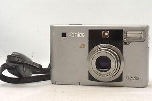 @ Ship in 24 Hours! @ Rare! @ Konica Revio APS Film Camera 24-48mm Zoom Lens