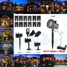 48 patrones Proyector Láser luces LED Exterior Paisaje partido Navidad Lámpara