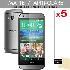 5 x New HTC One Mini 2 ANTI-GLARE MATTE Screen Protector Cover Guard Shield