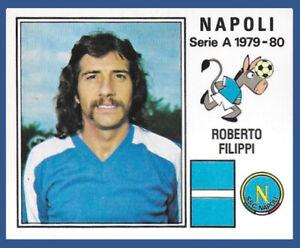 FIGURINA CALCIATORI PANINI 1979/80 - RECUPERO N.203 FILIPPI - NAPOLI