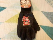 NEW St. Louis Cardinals Blue Utility Gloves, MLB Baseball