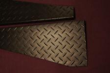 1997 - 2006 JEEP TJ Wrangler MATTE BLACK DIAMOND PLATE FENDER covers 90 DEG BEND