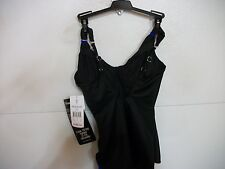 NWT - MIRACLESUIT 'PARAMORE #448034' Black 1-PIECE w/UNDERWIRE SWIMSUIT Size 10