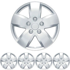 Hub Cap Covers for Nissan Altima 16 Inch Silver Replica ABS Caps 4 PC Set