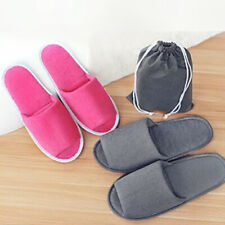 Unisex Disposable Guest Slippers Travel Hotel SPA Slipper Shoes Household Supply