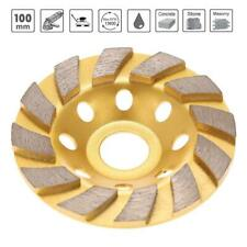 100mm Diamond Grinding Wheel Concrete Cup Disc Marble Stone Grind Tool Sanding