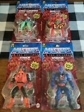 Masters Of The Universe '21 Retro Play Mattel Factory Sealed New set of 4