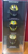 Minichamps 1:10 Valentino Rossi helmet collection display case (holds x 3)