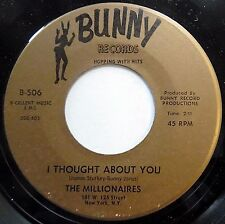 MILLIONAIRES mint minus Northern Soul 45 I Thought About You ~ Cherry Baby e1948