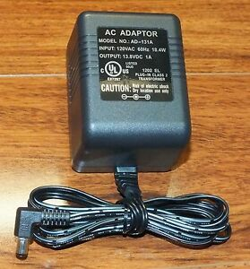 Unbranded / Generic AC Adaptor Class 2 Power Unit Supply (AD-131A) 120 Volts!
