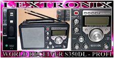 PROFI Weltempfänger GLOBOTRONIC XXL Radio AM FM SW Band Receiver BCL3000 S350
