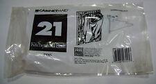 New! Plastic Bag Holder Hanger Under Sink Garbage Trash Steel 2 pc. Bracket