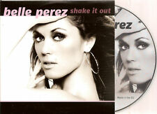 BELLE PEREZ - shake it out CD SINGLE + VIDEO 2011 NEW!!