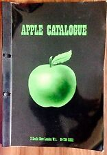 SUPER RARE IN HOUSE APPLE 1971 CATALOGUE THE BEATLES WITH 1975 UPDATE