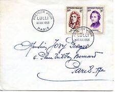 PREMIER JOUR LULLI / PARIS 1956