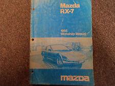 1985 Mazda RX-7 RX 7 Service Repair Shop Manual FACTORY OEM BOOK RARE 85 x