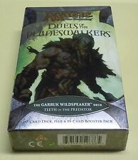 MTG DUELS OF THE PLANESWALKERS, TEETH OF THE PREDATOR Deck! SEALED FREE SHIPPING