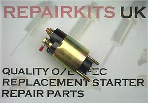 ROVER 75 1.8 16v  PETROL COMPLETE REPLACEMENT SOLENOID FOR STARTER MOTOR