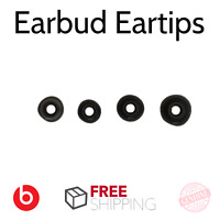 Beats By Dre Earbuds for Powerbeats 2 3 Wireless Ear Tips Black [4 Pairs]