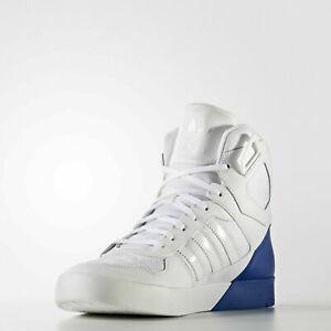 Adidas Women's Originals Zestra White/Collegiate Royal Blue High Top Trainers