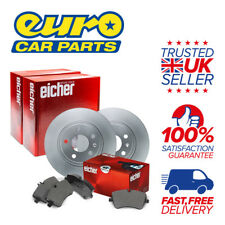 Eicher Rear Brake Kit (2x Disc 1x Pad Set) - OPEL ZAFIRA Comfort 1.8 Petrol