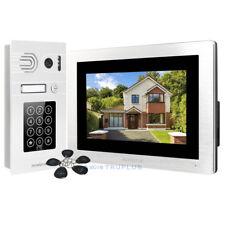 HOMSECUR Video Door Intercom with Recording Snapshot & Password IC Keyfob Access