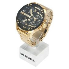 Diesel DZ7333 MR DADDY 2.0 Gold Multiple Time Chronograph Watch