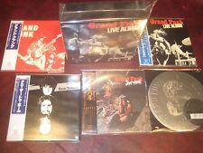 GRAND FUNK RARE 5 REPLICAS TO THE ORIGINAL JAPAN OBI CD  BOXSET ONE TIME SPECIAL