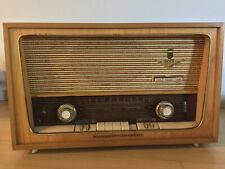 Grundig 2077 VINTAGE TUBE RADIO WORKS and in ABSOLUTELY GORGEOUS CONDITION