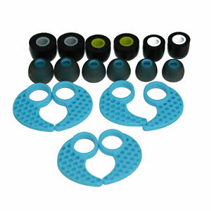 Silicone Ear Buds Fins Compatible For JayBird BlueBuds X X2 Bluetooth Headphones