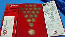 19 Medaglie Cinquantenario I Guerra Mondiale I Grandi Protagonisti Cocepa WWI