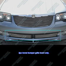 Fits 2004-2008 Chrysler Crossfire Lower Bumper Billet Grille Grill Insert