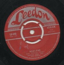 "JOHNNY REBB AND HIS REBELS   Rare 1958 Aust Only 7"" OOP Leedon Single ""Noelene"""